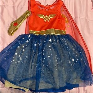 babygirl wonder woman dress - size 2t